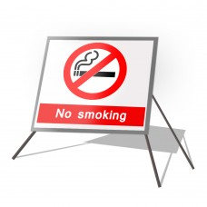 No Smoking Roll Up Sign