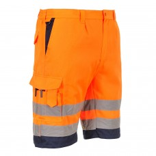 Orange High Visibility Shorts