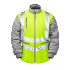 Pulsar P422 High Visibility Sleeved Body Warmer