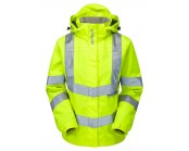 P704 PULSAR  Ladies Yellow Storm Coat