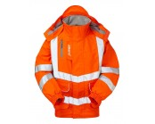 Pulsarail PR496 High Visibility Bomber Jacket