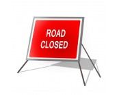 Road Closed Roll Up Sign