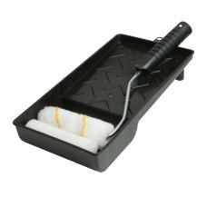 Mini Paint Roller & Tray Set