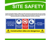 Site Safety Correx Sign