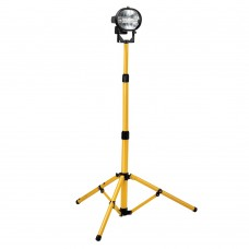 Single Halogen Tripod Site Light 110v