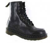 Dr Martens Black Smooth Boot