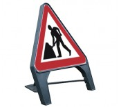 Temporary Plastic Road Signs
