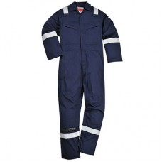 Navy Flame Retardant Anti-Static Coverall