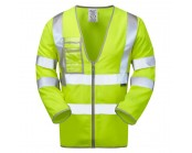 Pulsar P201 High Visibility Long Sleeved Waistcoat