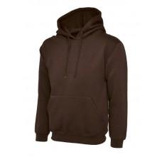 Classic Hooded Sweatshirt Brown