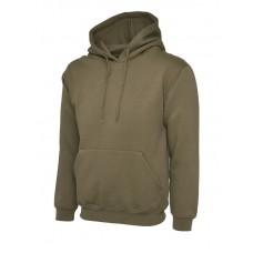 Classic Hooded Sweatshirt Military Green