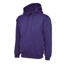 Classic Hooded Sweatshirt Purple