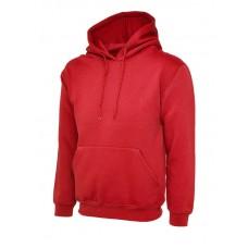 Classic Hooded Sweatshirt Red