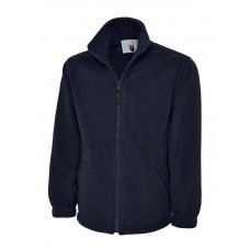 Premium Full Zip Micro Fleece Jacket Navy
