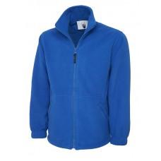 Premium Full Zip Micro Fleece Jacket Royal Blue