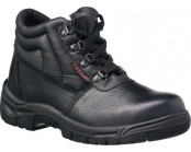 Tuffking Black chukka boot with midsole S3