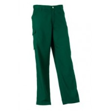 Russell Polycotton Trouser 001M Bottle Green