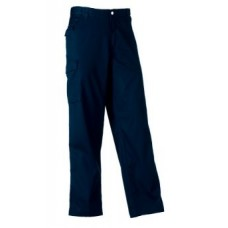 Russell Polycotton Trouser 001M French Navy