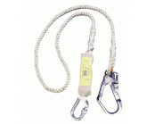 Miller Titan Rope Shock Absorbing Lanyard 2m
