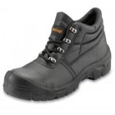 Black Chukka Boot Scuff Cap