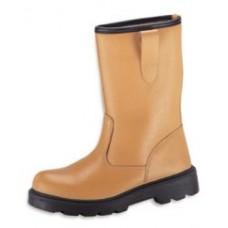 Tan Rigger Boot