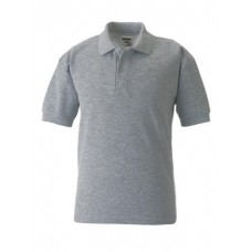 Russell Classic Polo Shirt Light Oxford