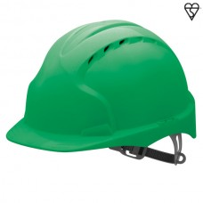 JSP EVO2 Vented Helmet Green