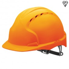 JSP EVO2 Vented Helmet Orange