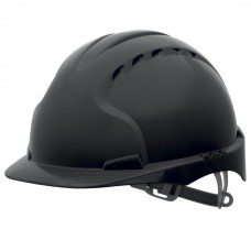 JSP EVO3 Vented Helmet Black