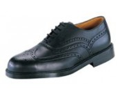 Lotus Black Brogue Safety Shoe