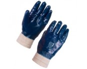 Nitrile Fully Coated Knit Wrist Glove