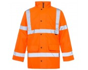 Orange High Visibility Site Jacket