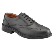 Black Brogue Safety Shoe