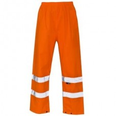 Orange High Visibility Over Trousers