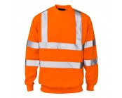 Orange High Visibility Sweatshirt