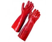 Red PVC Gauntlet 45cm