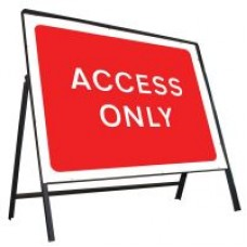 Access Only Sign