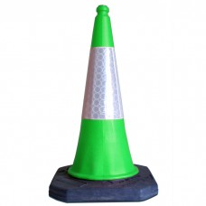 750mm Road Cone Green