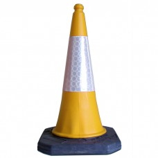 750mm Road Cone Yellow