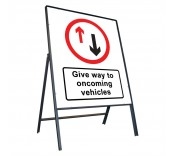 800mm x 900mm Temporary Road Signs