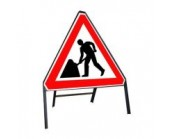 600mm Roadworks Ahead Sign