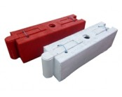 Red Log Traffic Separator