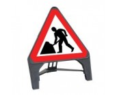 Men at Work Q Sign 750mm