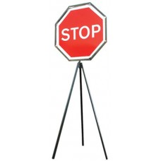 Stop Go Road Tripod Sign 900mm
